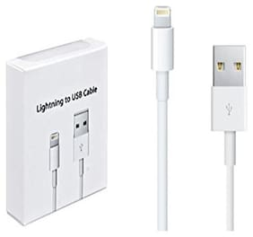 S4 Data & Charging 8 Pin (Lightning) Cable ( 1-1.5m , White )