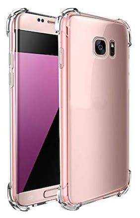 LIRAMARK Back Cover For Samsung Galaxy S7 Edge  Transparent
