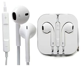 In-Ear Wired Headphone ( White )