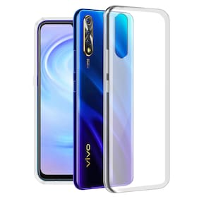 Looklike Silicone Soft Back Cover For Vivo S1 ( Transparent )