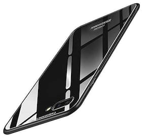 OPPO A3s Glass Back Cover By Loopee ( Black )
