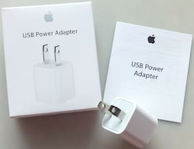 LOT OEM Apple Wall Charger Adapter For iPhone 5 5s 6S 6 Plus 7