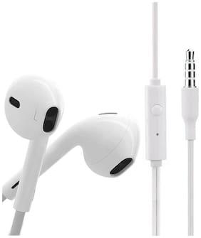 Altronics Universal Vivo Earphone In-Ear Wired Headphone ( White )