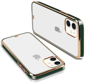 Gohaps Silicone Back Cover For Apple iPhone 11 ( Green )