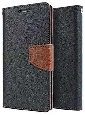 Luxury Mercury Diary Wallet Style Flip Cover Case For Xiaomi Redmi Note 4 (Brown)