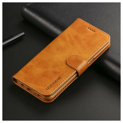 Magnetic Leather Flip Wallet Case Cover For Apple iPhone 6 / 7 / 8 Plus / XS Max