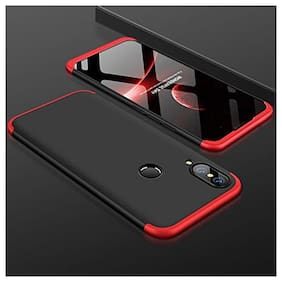 Mascot max back cover 360 Degree black and red  full body cover for Honor P20 lite