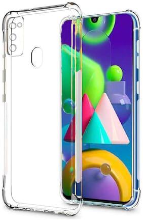 Mascot Max back cover transparent shock proof Bumper TPU  for Samsung Galaxy M21/Galaxy M30s