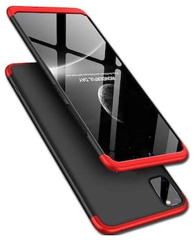 Mascot Max  back cover 360Degree Red/Black full frent&back case  for Samsug Galaxy A51