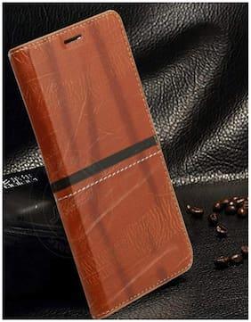 Mascot max Flip cover Golden Hiquality flip cover artificial leather flip cover for Xiaomi redmi note5 pro