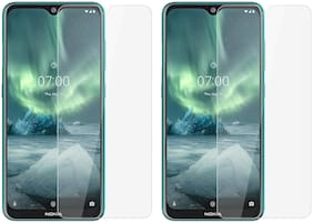 Mascot Max Tempered glass E0.33mm 2.5D tempered glass for Nokia 7.2 (2019)
