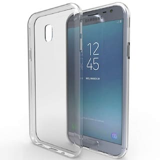 Max Pro Back Cover For Samsung Galaxy J3 2018 (Transparent)