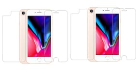 Max Pro Front And Back Tempered Glass For Apple Iphone 6