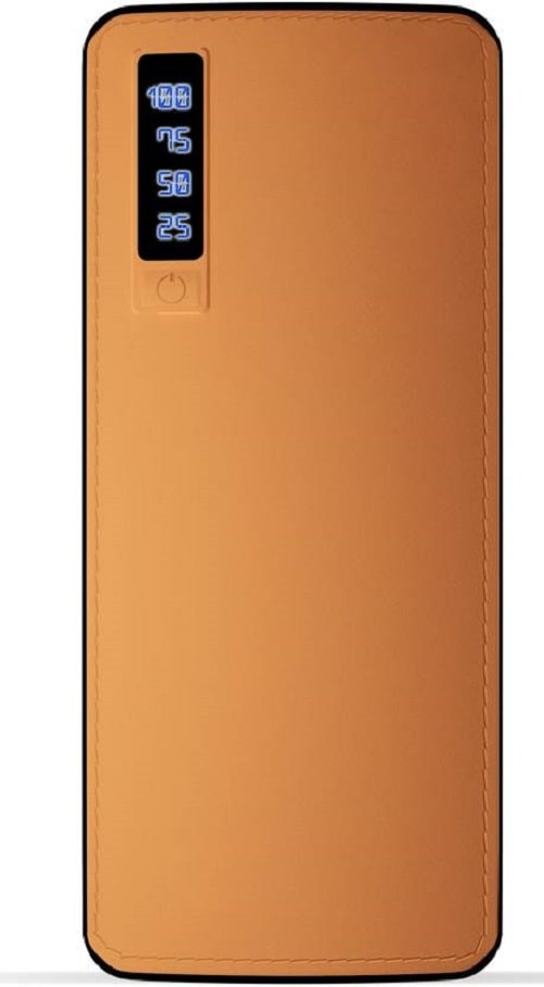 MAXIMILION 20000 mAh Li-ion Standard Power Bank (Brown)