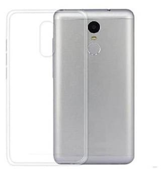 Maxpro Back Cover for Lenovo K6 Note (Transparent, Rubber)