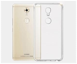 buy online 4b7cf f0b67 Maxpro Back Cover for Gionee A1 (Transparent, Rubber)