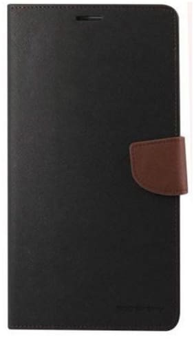 Mercury Goospery Flip Cover For HTC Desire 816 (Black)