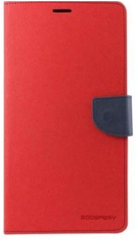 Mercury Goospery Flip Cover For Samsung Galaxy Grand 2 G7106 (Red)