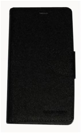 Mercury Goospery Flip Cover For Xiaomi Redmi Note (Black)