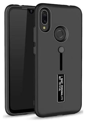 merQrio Back Cover For Redmi Note 7, Note 7 Pro, Note 7S (Black)