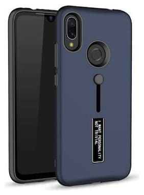 merQrio Polycarbonate & TPU Armor Case & Back Cover For Redmi Note 7 & Redmi Note 7 Pro ( Blue )