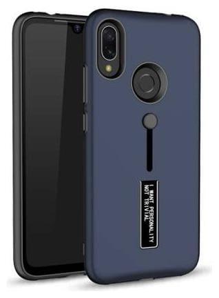 merQrio Polycarbonate & TPU Back Cover For Redmi Note 7 & Redmi Note 7 Pro ( Blue )
