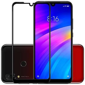 MerQrio Edge To Edge Tempered Glass For Redmi 7