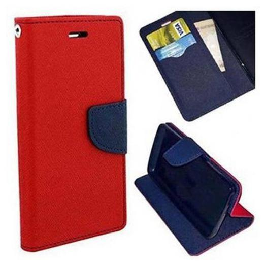 mFishing Flip Cover For Mi Redmi 5A  Red