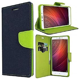 MFishing Flip Cover For Mi Redmi Note 7S (Green)