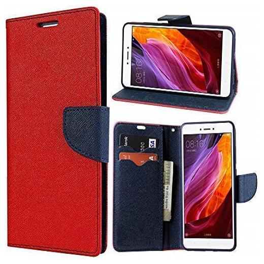 mFishing Flip Cover For Samsung Galaxy J7   6  New 2016 Edition   Red