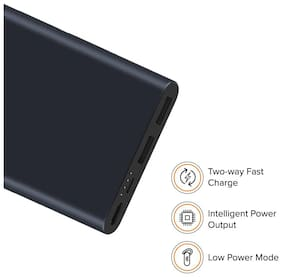 Mi 2i 10000 mAh Power Bank - Black