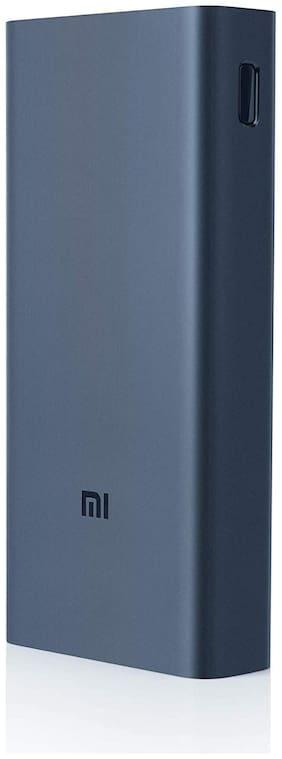 Mi 3i 20000 mAh Fast Charging Power Bank - Black