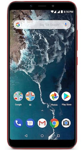Mi A2 4 GB 64 GB Red