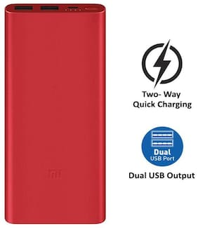 Mi PLM09ZM 10000 mAh Power Bank - Red