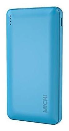 Michi 5000 mAh Power Bank   Blue by Electrop Store