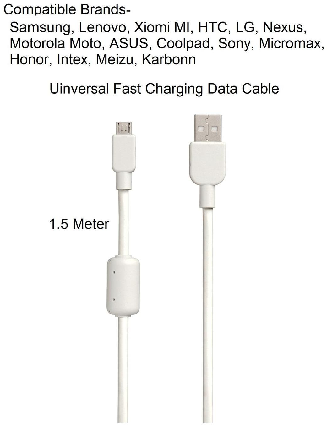 Micro USB 60MBPS Data Transfer, Durable, High Speed Micro USB Data Cable By Sami