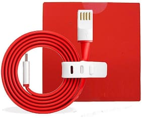editrix Data & Charging Type-C Cable ( 1-1.5m , Red )