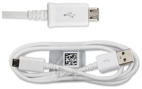 Micro USB Charging Cable for Android Smartphones (White)