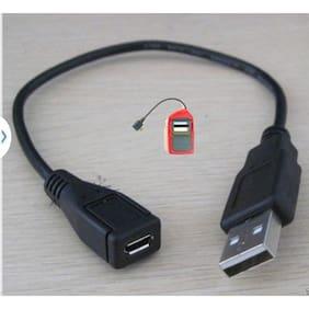 MICRO USB FEMALE TO USB MALE CABLE FOR OTG MORPHO 1300 E2 E3