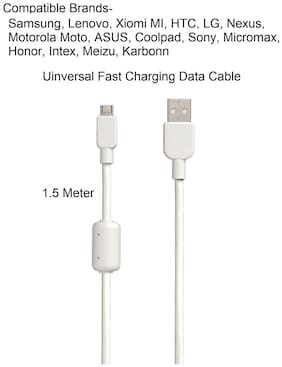 Micro USB Universal Charging DATA Cable For  Xiaomi, Lenovo, Samsung, Sony, Oppo, Gionee, Vivo Xiaomi, Lenovo, ALL Mobiles 60MBPS BY Sami