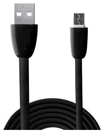 PASH charging data sync cable cables   Micro Usb cable,  data cable cables 1 mtr , Black  OPB