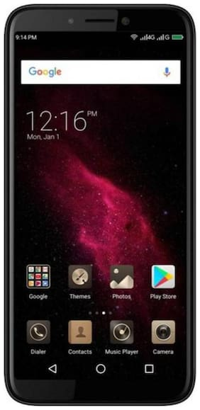 Micromax C2A 2 GB 16 GB Black