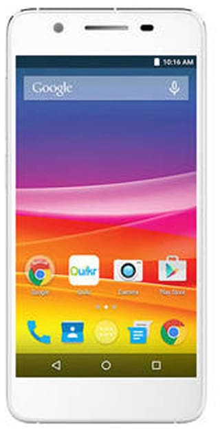 Micromax Canvas Knight 2 E471 16 GB (White & Silver)