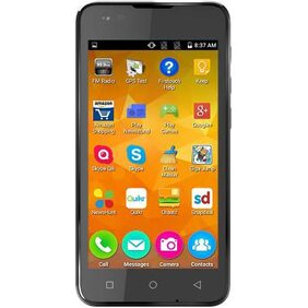 Micromax Q400 Canvas Blaze 4G 8 GB (Black)
