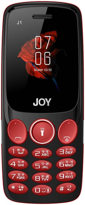 Micromax J1 (Black & Red)