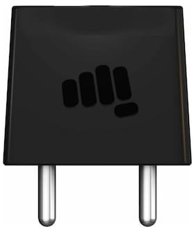 Micromax Black Travel Adapter & Wall Charger