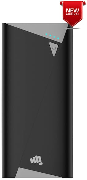 Micromax Mxapbka100 black 10400 mAh Li-ion Power Bank ( Grey )