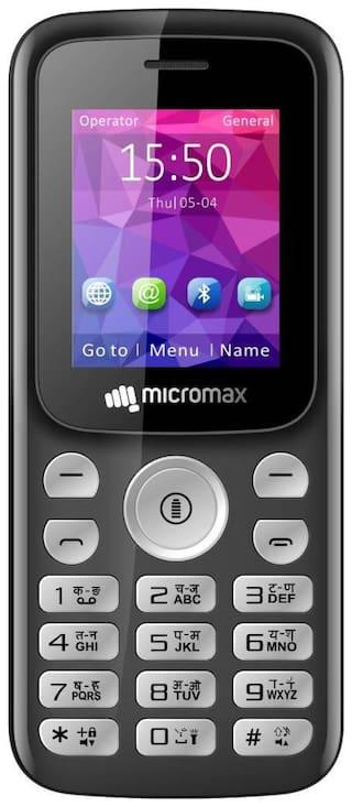 Micromax X378 Dual Sim Black