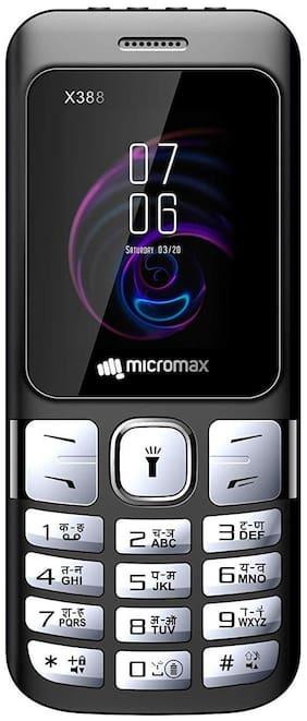 Micromax X388 Dual Sim Black