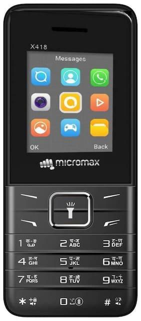 Micromax X418 (Black)